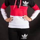 Trening Dama Sport Adidas negru-roz Model NOU, Marime: S, M, L, XL, XXL, Culoare: Din imagine, Bumbac