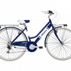Bicicleta Oras, Adriatica, Panarea, Albastru, Cadru 450 mm, Otel Adriatica - Bicicleta pliabile