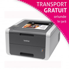 Imprimanta laser color Brother HL3140CW, A4, USB 2.0, Wireless
