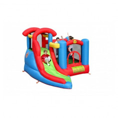 Saltea gonflabila Play and Slide Happy Hop, Multicolor