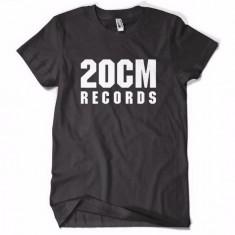 Tricou 20 CM RECORDS PARAZITII 20CM rap hip hop pe spate Parazitii - Tricou barbati, Marime: S, Culoare: Negru
