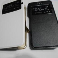 Husa carte silicon S-View cu TPU Samsung 7272 Samsung Galaxy Ace 3 - Husa Telefon