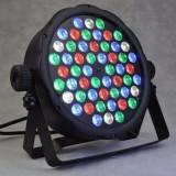 Led par proiector 54 led disco lumini scena DMX racire RGBW lumini arhitecturale