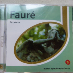 Faure - Requem - Muzica Clasica sony music, CD