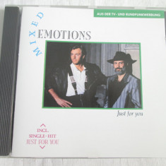 Mixed Emotions ‎– Just For You _ cd, album, Germania - Muzica Dance emi records