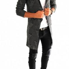 Cardigan tip ZARA fashion - Cardigan barbati - 6975 - Hanorac barbati, Marime: S, M, L, XL, Culoare: Din imagine