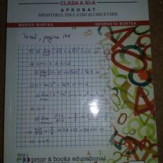 Vand manual matematica clasa a-XI-a Editura Prior - Manual scolar Altele, Clasa 11