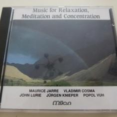 Music for relaxation - Muzica Ambientala Altele, CD
