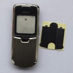 Carcasa Nokia 8800 argintie originala noua