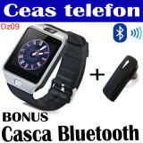 SMARTWATCH DZ09 +casca Bluetooth