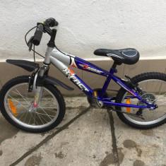 46 bicicleta copii x-fact second-hand, germania r18, 14 inch, 12 inch, Numar viteze: 6