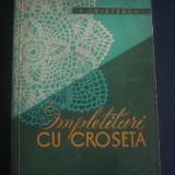 E. CRISTESCU - IMPLETITURI CU CROSETA