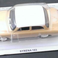 Macheta metal DeAgostini - Syrena 103 -  Masini de Legenda Polonia - noua