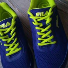 Sneakers FILA femei - Adidasi dama FILA, Marime: 39.5, Culoare: Albastru