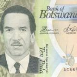 Bancnota Botswana 10 Pula 2012 - P30c UNC - bancnota africa