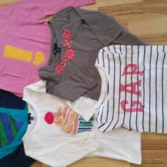 GAP Set 5 Bluzite pentru fetite marimea 6-7 ani, Marime: YM, Culoare: Fuchsia