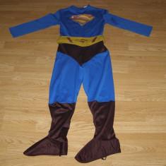 Costum carnaval serbare superman pentru copii de 10-11-12 ani - Costum Halloween, Marime: Masura unica, Culoare: Din imagine