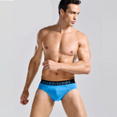 Sexy Chilot Chiloti Jockstrap Barbati Male ARNALDO BASSINI - Chiloti barbati, Marime: M, Culoare: Albastru, Mov, Negru