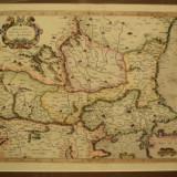 Walachia, Servia, Bulgaria, Romania, varianta de culoare I, Mercator 1595