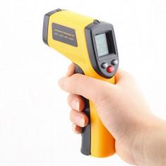 Termometru cu INFRAROSU Digital fara atingere NON CONTACT cu punct Laser PRET