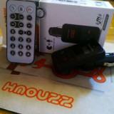 Transmitator / Modulator FM / Bluetooth 3.0 Kit Handsfree Auto - Modulator FM auto