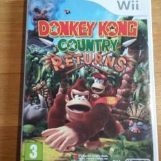 Wii Donkey Kong country returns - joc original PAL by WADDER - Jocuri WII Altele, Arcade, 3+, Multiplayer