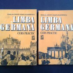 LIMBA GERMANA CURS PRACTIC Emilia Savin Ioan Lazarescu 2 volume 1992 - Curs Limba Germana