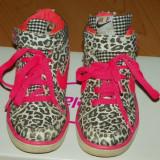 Ghete sport fetite - Nike leopard - Adidasi copii Nike, Marime: 28, Culoare: Din imagine