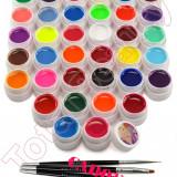 Set 36 geluri UV Color ENS PRO pentru Lampa UV + CADOU - Gel unghii