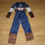Costum carnaval serbare captain america pentru copii de 8-9 ani - Costum copii, Marime: Masura unica, Culoare: Din imagine