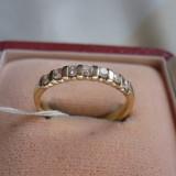 LICHIDEZ COLECTIE- INEL CU BRILIANTE - Inel diamant, Carataj aur: 18k, Culoare: Galben