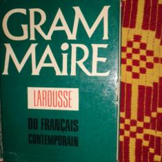 Grammaire larousse du francais contemporain ( gramatica franceza /494pagini - Curs Limba Franceza Altele