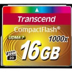 Card Compact Flash Transcend 16 GB 1000x